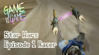 Star Wars Episode 1 Racer - N64 vs DC - Game vs Game