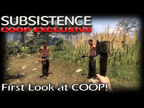 First Look at COOP! | Subsistence Coop Multiplayer Gameplay | EP 1