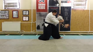 aihanmi katatedori shihonage ura [TUTORIAL] Aikido empty hand basic technique