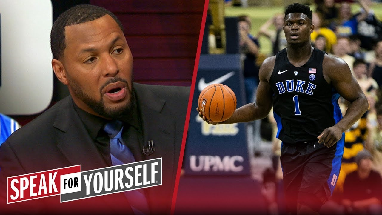 Eddie House says Zion Williamson is 'infectious,' will be a Top-3 pick | NBA | SPEAK FOR