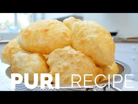 How To Make Puri Recipe Poori | Indian Cooking Recipes | Cook with Anisa #recipeoftheday