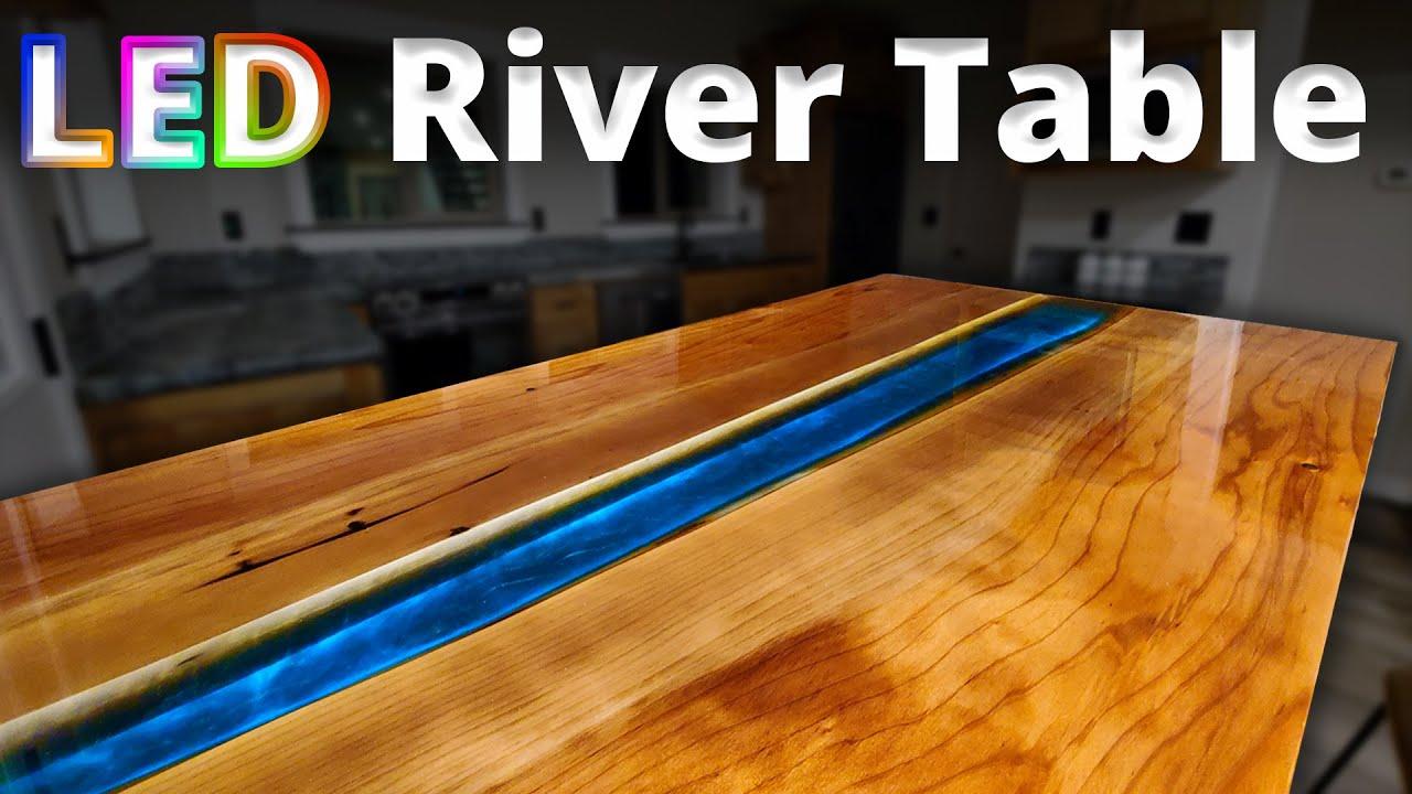 LED River Table | FREE Master Class | Stone Coat Epoxy