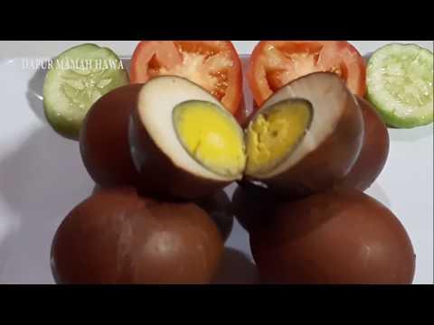 Cara Membuat Telur Pindang Yang Enak Gurih