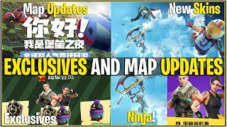 *NEW* Fortnite: LEAKED MAP CHANGES! *Tomato Town Replaced* | (Tencent Exclusives/Daily Rewards Leak)