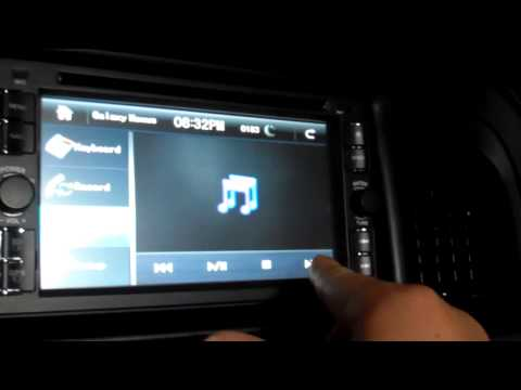 ouku din dvd android car stereo head unit review 3 01
