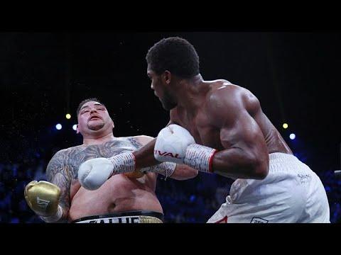 البريطاني جوشوا يستعيد لقب العالمي في الملاكمة بالفوز على رويز في السعودية…  - 08:58-2019 / 12 / 8