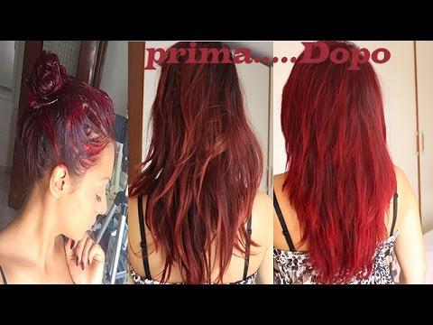 tinta capelli velocemente
