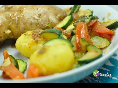 poêlée-de-légumes-pommes-de-terre-courgette-tomate