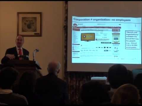 CSES Lecture Series: The Coming Collapse of the American Corporation? by Gerald F. Davis