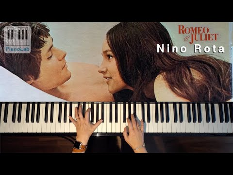 Romeo & Juliet  A time for us  Piano