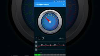 Measure sound around you with Sound Meter Noise Detector screenshot 2