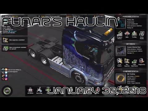 Funar is Haulin' Holiday Gifts | ETS2 | Special Transport (2017-12-30)