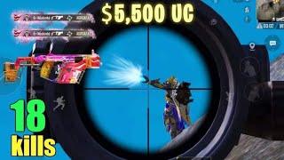 SPENDING $5,500 UC ON NEW VECTOR SKIN!! | PUBG MOBILE