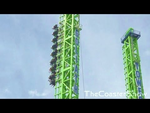 Goliath Off ride HD - Six Flags New England