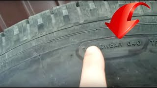 видео Автомобильные шины: маркировка и эксплуатация