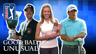 Na problems, Phil's chipping lesson, Wimbledon & World Cup golfers