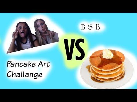 Pancake Art FAIL! B&B