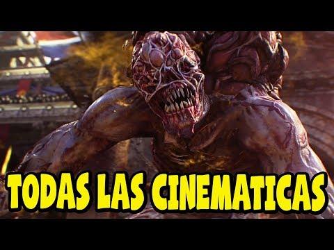 Call of Duty Black Ops 4 Zombies - Todas las Cinematicas en Español Latino 2018 - 1080p