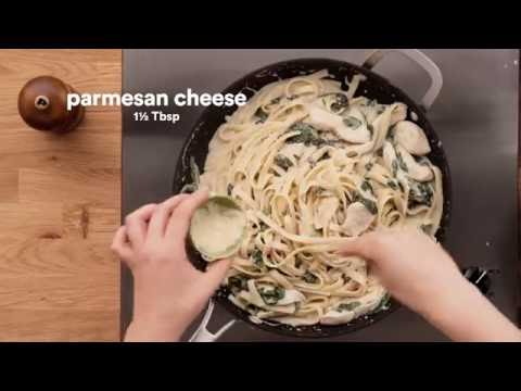 Campbell's Kitchen | Simple Chicken Florentine Alfredo with Fettuccine