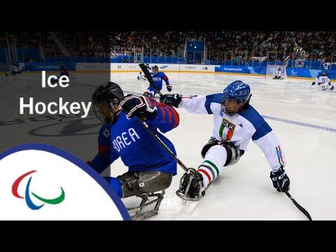 [Korea v Italy]   Bronze medal game  Ice hockey   PyeongChang2018 Paralympic Winter Games