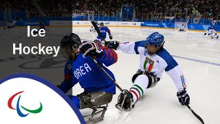 [Korea v Italy] | Bronze medal game |Ice hockey | PyeongChang2018 Paralympic Winter Games