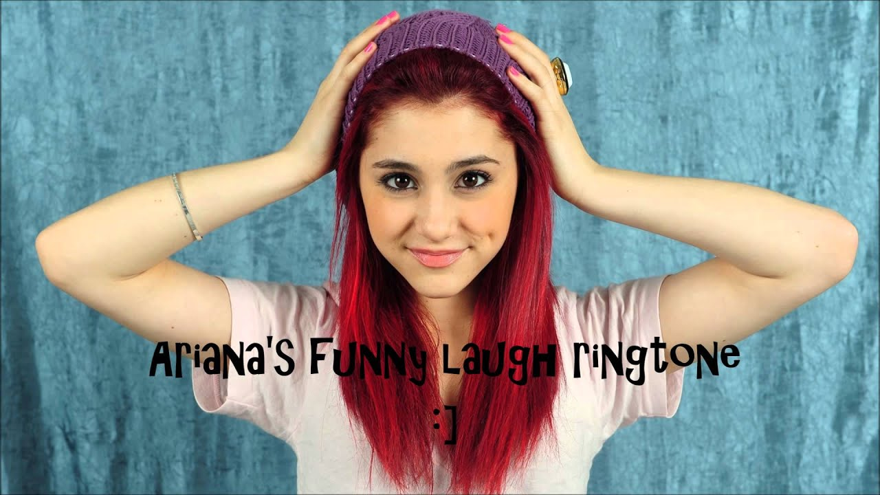 Cat Valentine (Ariana Grande)  Victorious  Funny Laugh Ringtone :]   YouTube