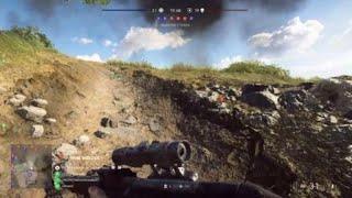 14 Kills With A V1 Rocket In Battlefield V / BF5 But Then Karma Strikes???