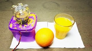 How to make Orange Juicer using Plastic Bottle