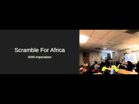 Scramble for Africa Lesson Video-Chelsey Shuey