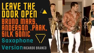 Bruno Mars, Anderson Paak, Silk Sonic - Leave The Door Open - Saxophone Cover [feat. Ricardo Branco]