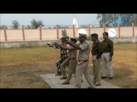 Arm training of central excise and custom officers