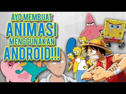 Cara Membuat Animasi Di Android - Tips, Trik dan Tutorial | Flipaclip | Animation Tutorial