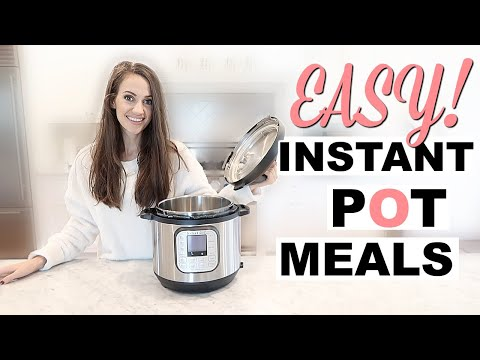 4 EXTREMELY EASY & AFFORDABLE INSTANT POT MEALS // Gluten Free And Dairy Free // SIMPLY ALLIE
