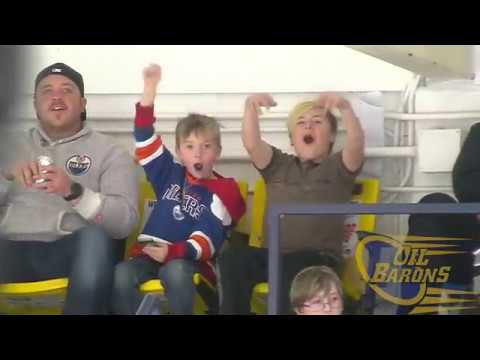 Fort McMurray Oil Barons vs Canmore Eagles 11/11/2017