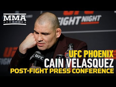 UFC Phoenix: Cain Velasquez Post-Fight Press Conference - MMA Fighting
