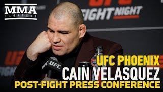 UFC Phoenix: Cain Velasquez Post-Fight Press Conference - MMA Fighting