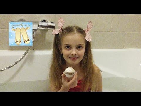 Тирамису (。◕‿◕。) БОМБА для ванны в действии  Have fan Bath Bombs   review  Влог купаюсь в ванне