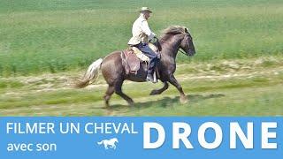 FILMER UN CHEVAL AVEC UN DRONE