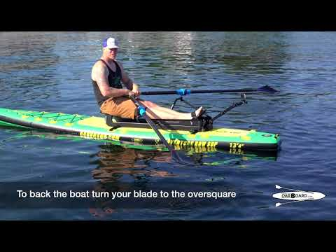 Backing your boat: Rowing Basics with Adam Kreek, gold medal Olympian