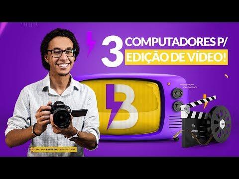 3 COMPUTADORES INSANOS PARA EDIÇÃO DE VÍDEOS PROFISSIONAL!