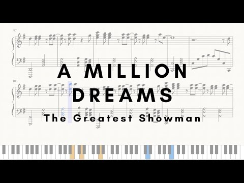 A Million Dreams - Piano (SHEETS)