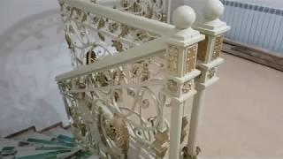 видео Купить ограждения для лестниц в Москве.