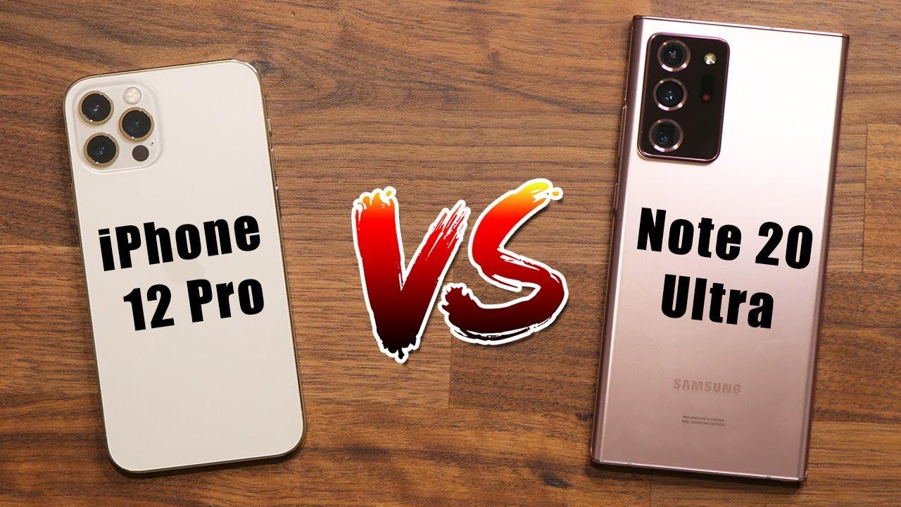 Download iPhone 12 Pro (Max) vs Galaxy Note 20 Ultra - Full Comparison