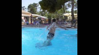 Camping Beauregard - Un après-midi à la piscine
