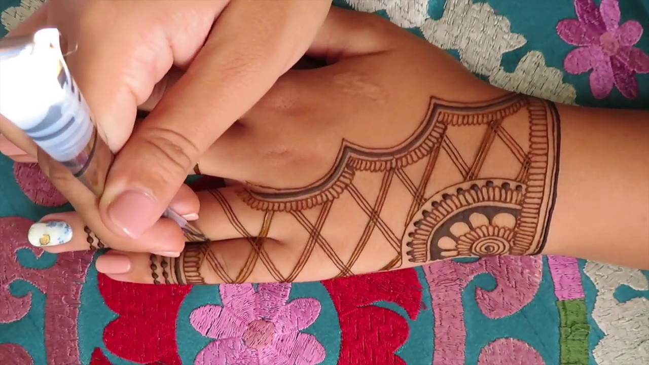 Elegant Henna Design For Eid Youtube