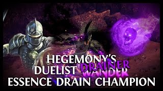 Path of Exile Prophecy: Hegemony's Duelist Champion Essence Drainer!