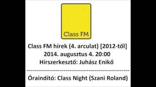 Class FM hírek (2014) 4. arculat