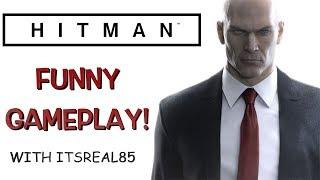 "FUNNY ""HITMAN"" GAMEPLAY"