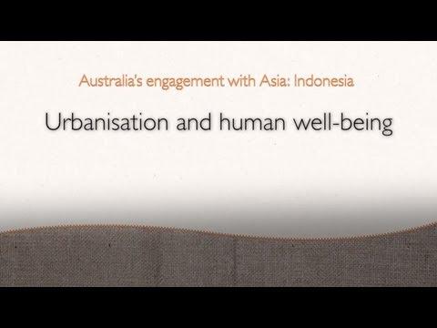 Urbanisation and megacities: Jakarta