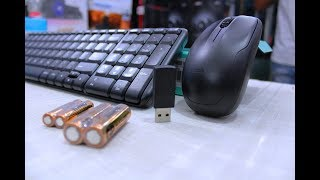 Logitech MK220 Wireless combo | Unboxing | Review